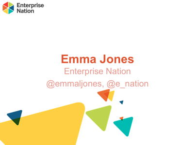 Emma Jones - How to grow your business and confidence in 2015
