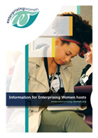 Enterprising Women leaflet