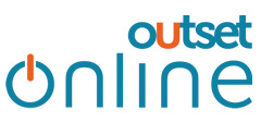 Outset Online logo