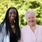 Hawa Sydique and Liz Lyon